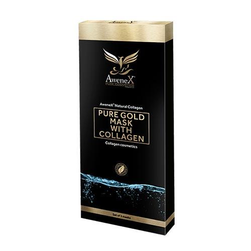 AweneX® Pure Collagen Nano Gold Maske